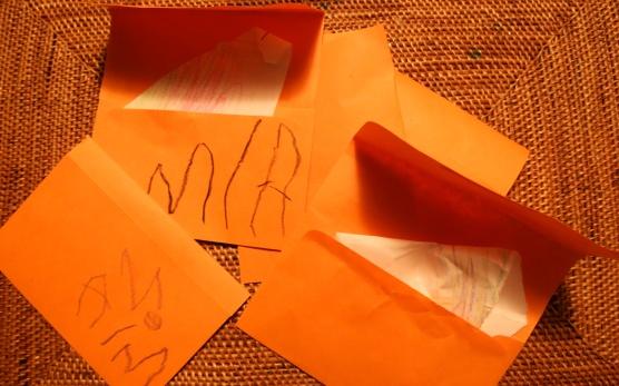 little orange love letters