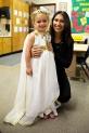 Mia and her Teacher, Ms. Silvia